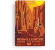 Beggar's Canyon - Tatooine Canvas Print