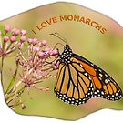 I Love Monarchs by Thomas Young