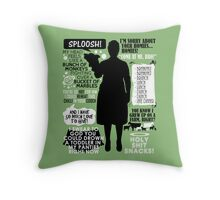 Archer - Pam Poovey Quotes Throw Pillow
