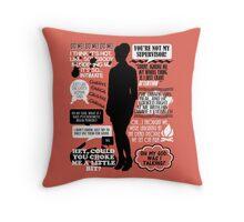 Archer - Cheryl Tunt Quotes Throw Pillow