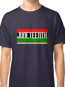 Juneteenth geek funny nerd Classic T-Shirt