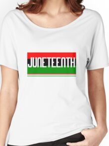 Juneteenth geek funny nerd Women's Relaxed Fit T-Shirt