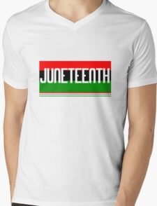 Juneteenth geek funny nerd Mens V-Neck T-Shirt