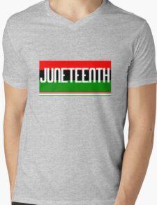 Juneteenth geek funny nerd Mens V-Neck T-Shirt