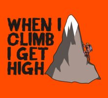 When i climb i get high. by TASHARTS