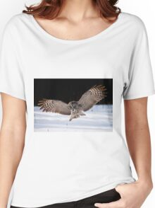 Great Gray Owl Women's Relaxed Fit T-Shirt