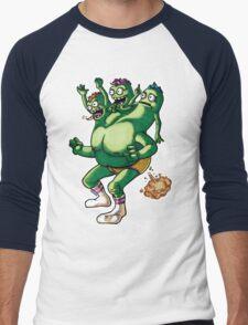 Triplets Of Smellville  Men's Baseball ¾ T-Shirt