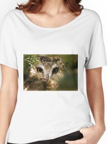 Northern Saw Whet Owl Women's Relaxed Fit T-Shirt