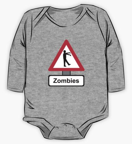 Caution: Zombies One Piece - Long Sleeve