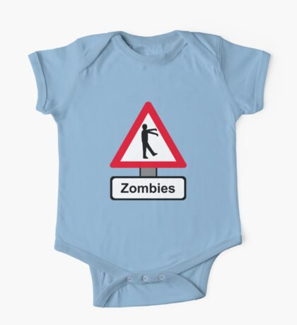 Caution: Zombies One Piece - Short Sleeve