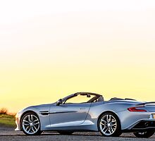 The Aston Martin Vanquish Volante by M-Pics