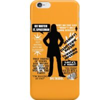 Doctor Who - Donna Noble Quotes iPhone Case/Skin