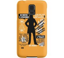 Doctor Who - Donna Noble Quotes Samsung Galaxy Case/Skin
