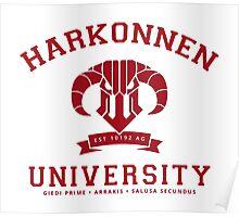 Harkonnen University [Red] Poster