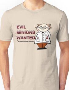 Evil Minions Wanted Unisex T-Shirt