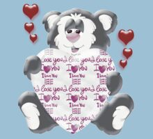 Teddy Bear in Love  Baby Tee