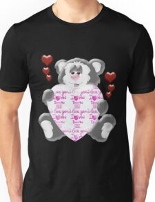 Teddy Bear in Love  Unisex T-Shirt