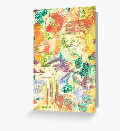 Recipe of Colour Greeting Card