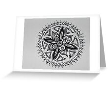 fruitful black and white Greeting Card