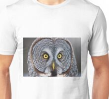 Great Gray Owl Unisex T-Shirt