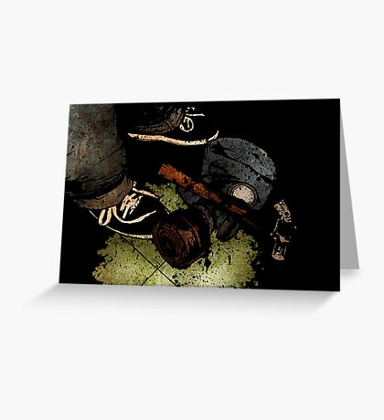 Leroy - Weapons Of War Greeting Card