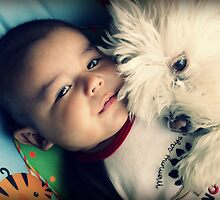Nick & Laika by Ghelly