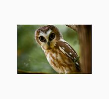 Northern Saw Whet Owl On Branch Unisex T-Shirt