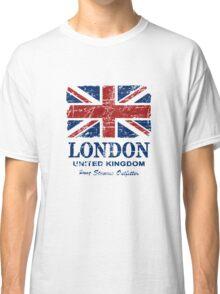 London - United Kingdom - Union Jack Flag Classic T-Shirt