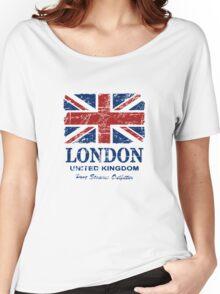 London - United Kingdom - Union Jack Flag Women's Relaxed Fit T-Shirt