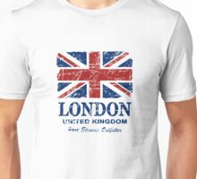 London - United Kingdom - Union Jack Flag Unisex T-Shirt