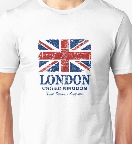 London - United Kingdom - Union Jack Flag Unisex T-Shirt