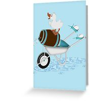 Naughty Little Duck  Greeting Card