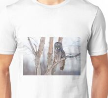 Great Grey Owl - Dunrobin Ontario Unisex T-Shirt