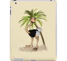 Quirky Ostrich  iPad Case/Skin