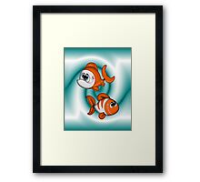 Happy Happy Fish Framed Print