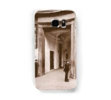 Posters 1880s Altes Burgtheater Eingang 1880  Samsung Galaxy Case/Skin