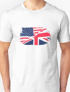 USA Flag - Union Jack Unisex T-Shirt