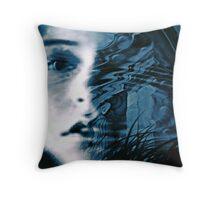 Atlantis Rising Throw Pillow