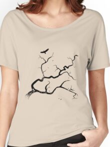 Autumn Tributaries Women's Relaxed Fit T-Shirt