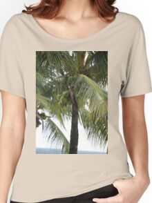 Barbados -- Coconut Theme I Women's Relaxed Fit T-Shirt