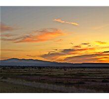 Mountain Sunrise Photographic Print