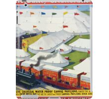 Poster 1890s Barnum & Bailey greatest show on Earth poster USSR iPad Case/Skin