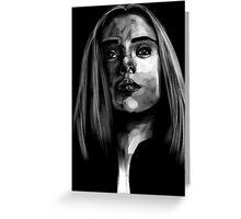 Black Widow #2 Greeting Card