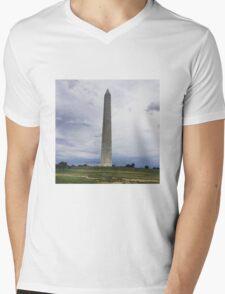 Washington Monument Mens V-Neck T-Shirt
