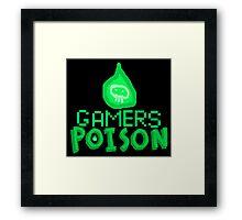 Games Poison Merchandise Framed Print