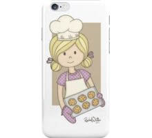 Cutie Pie Baker Girl iPhone Case/Skin