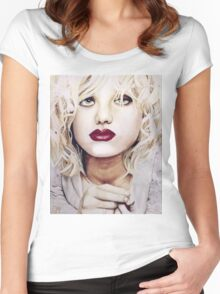 Courtney Love Women's Fitted Scoop T-Shirt