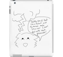 storm kitty  iPad Case/Skin