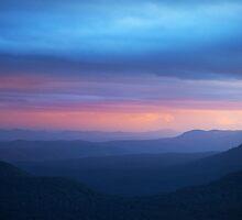 Valley sunset by PeterDamo