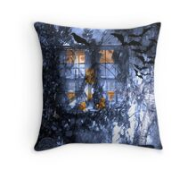Summ of All Fears Throw Pillow